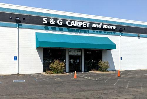 Entrance to Flooring Store in Rancho Cordova